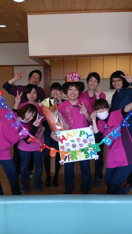 7号さんのお誕生日(^^)